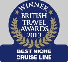 Best Niche Cruise Line 2013