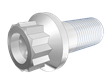 3D CAD Rendering of Critical National Aerospace Standards fastener