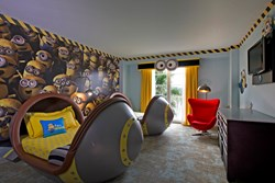 Despicable Me-Inspired Kids' Suites at Loews Portofino Bay Hotel at Universal Orlando
