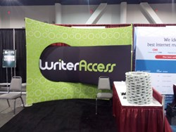 WriterAccess Booth at Pubcon