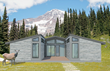 LivingHomes Unveils the LEED Platinum certifiable C6P, a Modern Ranch Home Optimized for Summer Retreats and Winter Getaways