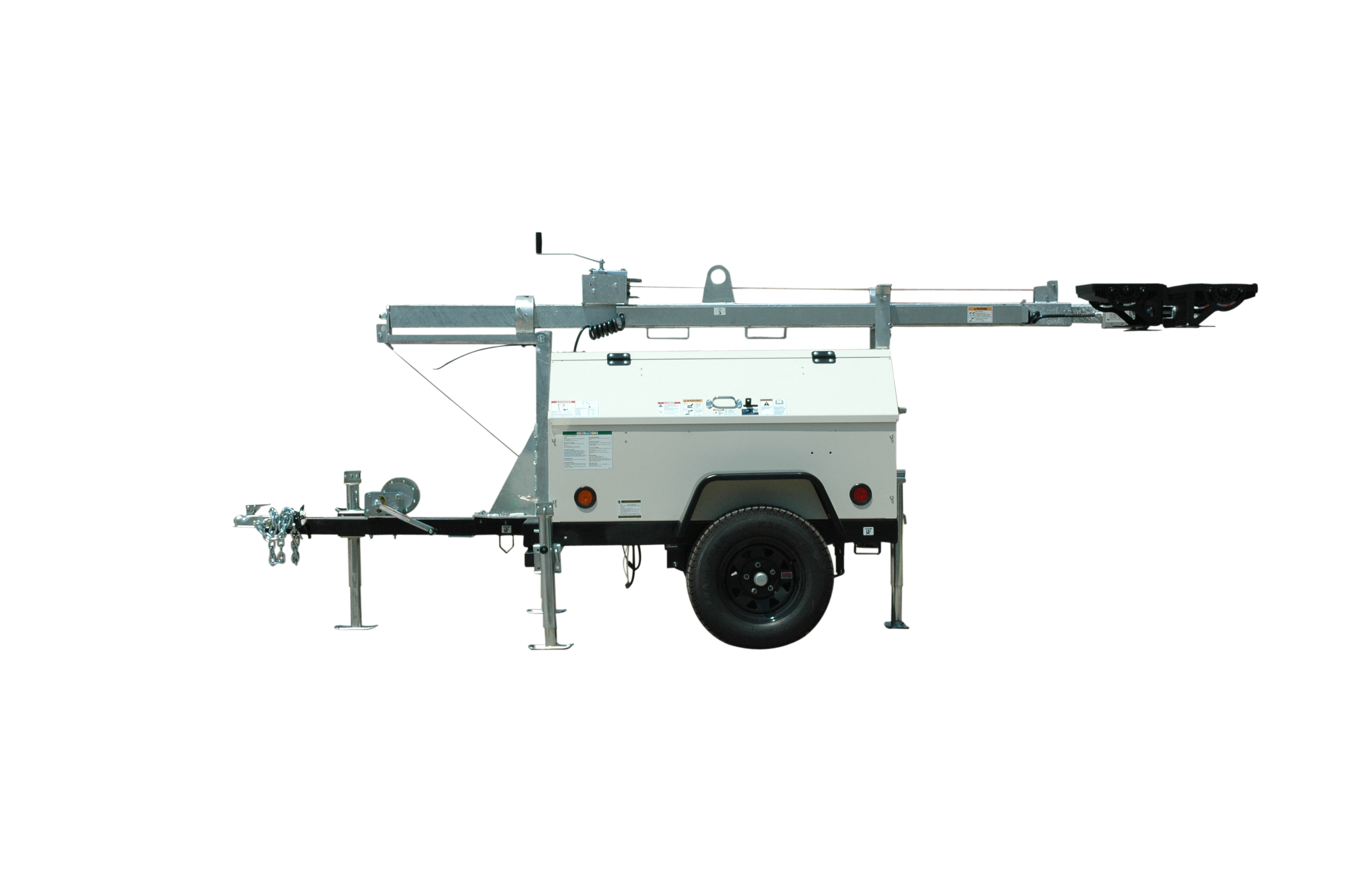 Mobile LED Light Tower with Diesel Generator Released by Larson