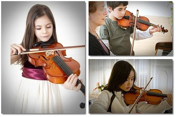 i want to learn to play the violin