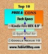 "Kindle Fire HDX 8.9"" Review"