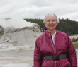 Janet Chapple at Castle Geyser 2011