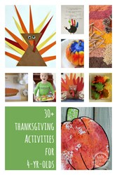 Thanksgiving activities for 4 year olds