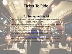 The Luxury Train Club for quality rail tours