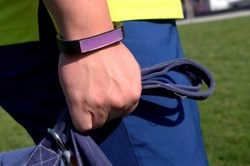 LUXES Bracelet help active individual take contro of their UV exposure