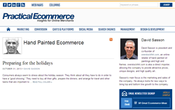 Announcing 'Hand Painted Ecommerce' – A New Column by David Sasson