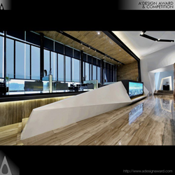 Mingli Metro Real Estate Sales Centre by Kris Lin