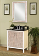 "sagehill designs CP3021 Cape Point 30"" Wood Vanity Cabinet with Adjustable Shelf"