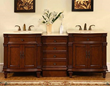 "silkroad exclusive double 80"" Bathroom Vanity, hyp-0205-80"