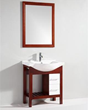 "Legion Furniture 29.5"" Bathroom Vanity WT9209 SINK 29.5"" Bathroom Vanity WITH MIRROR - NO FAUCET"