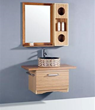 "Legion Furniture 35.5"" Bathroom Vanity WTB9003 SINK 35.5"" Bathroom Vanity WITH MIRROR - NO FAUCET"