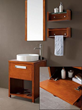 Avanity Cosmo 24 in. Vanity with VC Sink in Chestnut finish COSMO-VS24-CH