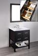 30'' Bosconi SB-250-1 Contemporary Single Bathroom Vanity