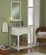 """sagehill designs sa2421 24"""" Bathroom Vanity cabinet with open shelf from the seaside collection"""