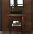 "V-KA-36BN - KA Bathroom Vanity - 36"" Cherry Cola - Xylem"