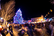 Tree Lighting During Night of Lights in Gunnison, photo by Gunnison Country Times