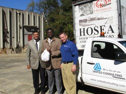 United Consulting donated 30 turkeys to Atlanta's Hosea Feed the Hungry Foundation