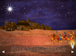 The queens and kings arrive in Bethlehem (a scene from 3 Wise Queens)