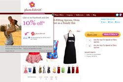 ShopSocially Get-a-Fan app on Plum District
