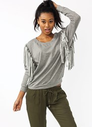 Tie the Knots Fringe Sweatshirt