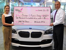 Bill Jacobs BMW donation to Susan G. Komen