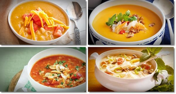Healthy soup recipes to help lose weight