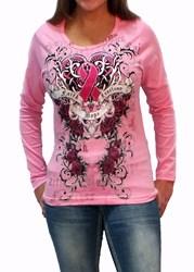 Cancer Awareness Pink Long Sleeve