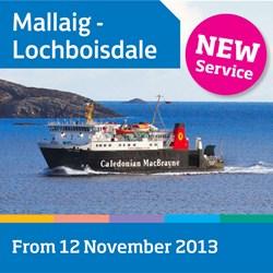 New CalMac Mallaig - Lochboisdale service starts