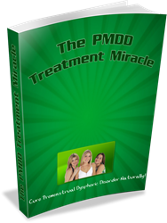 premenstrual dysphoric disorder treatment how the pmdd treatment miracle