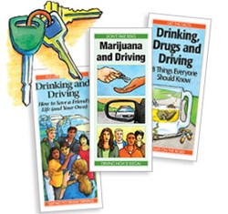 Marijuana and Driving, Drinking Drugs and Driving: 8 Things Everyone Should Know, Drinking and Driving: How to Save a Friend's Life (and Your Own).