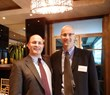 Andrew and Richard Schwartz, CPAs, celebrate their firm's 20th anniversary by hosting a party at Strega Prime