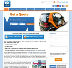 Most Insurance Web Site