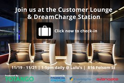 Totango Customer Lounge and DreamCharge Station
