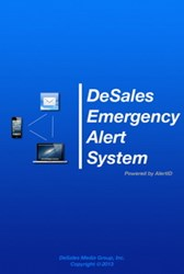 DeSales Emergency Alert System, powered by AlertID