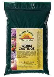 Green Planet Naturals 1-Quart Bag of Worm Castings