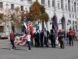 San Francisco Elks show their support for our Veterans
