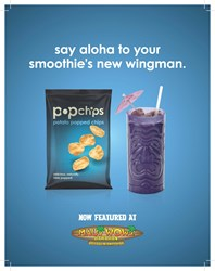 Maui Wowi Teams Up With Popchips.