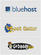 Hostgator vs Bluehost vs Godaddy