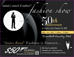 Women's Council of Realtors Contra Costa Fashion Show November 20, 2013