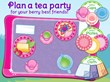 Plan a royal tea party with yummy treats and delicious smoothies