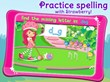 Practice spelling with Strawberry in a fun game of croquet