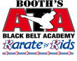 Booth's ATA Black Belt Academy and Karate for Kids Logo