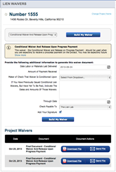 Lien Waiver Module from zlien empowers companies to control their lien rights