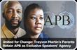 Trayvon Martin's Parents, Sybrina Fulton and Tracy Martin, Retain...