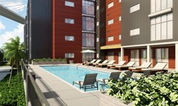 The Hue Student Housing Pool