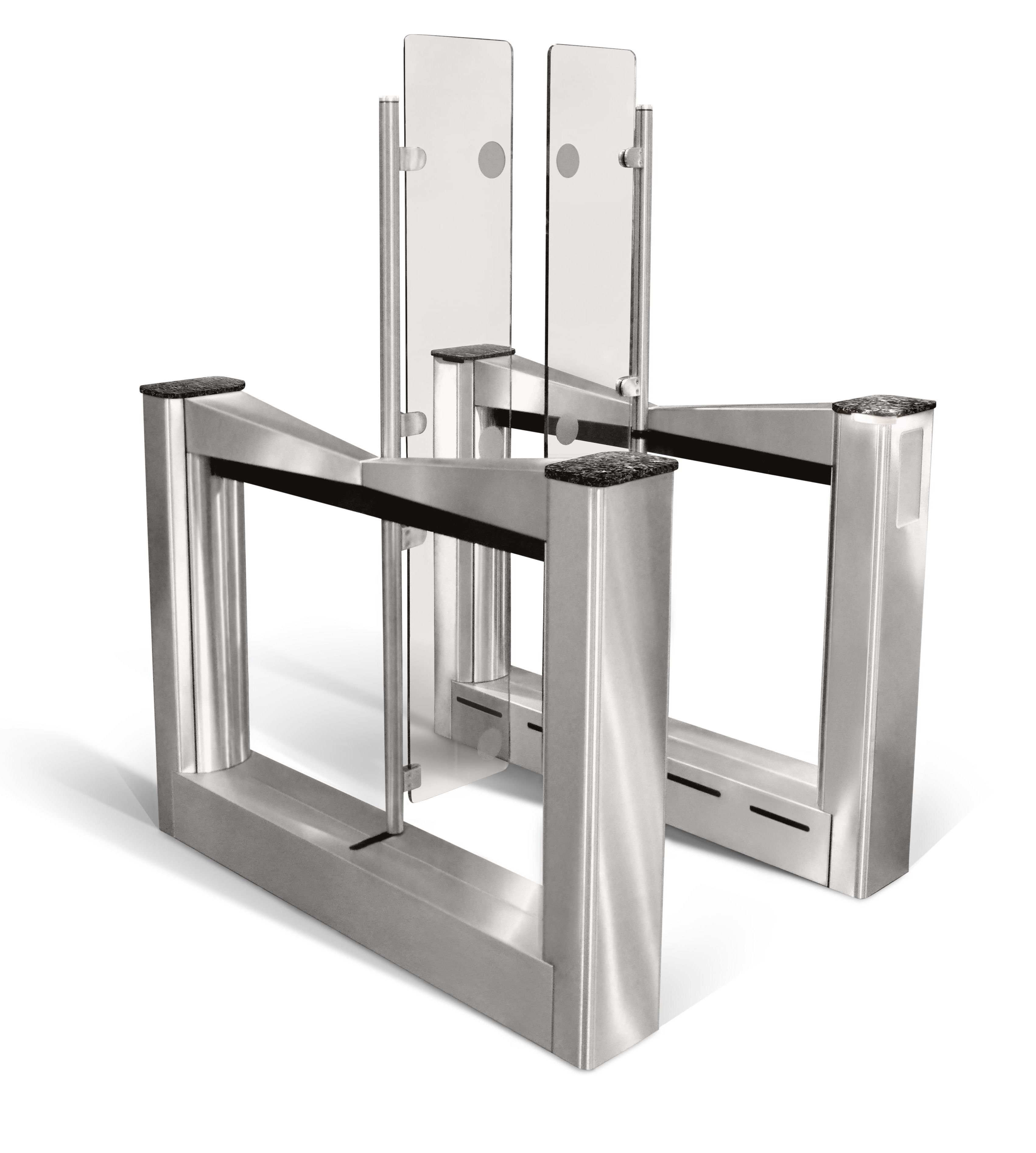 Security Turnstiles From Smarter Security Improve Entry