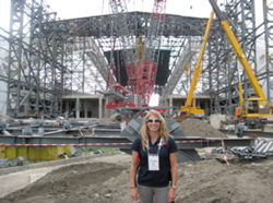 Dr. Beim on site visit in Sochi, Russia